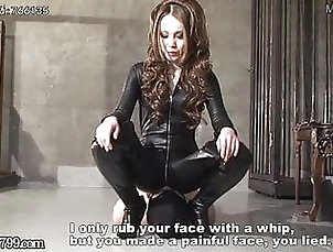 Asian;BDSM;Japanese;Femdom;Mistress Whipping;Hard Domination;Japanese Dominatrix Mistress Kira -...