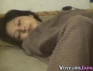 Japanese teen rub...
