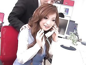 Asian;Japanese;Threesomes;Secretaries;Cum in Mouth;41 Ticket;HD Videos;Office Slut;Office;Slut Aiko Nagai is the...