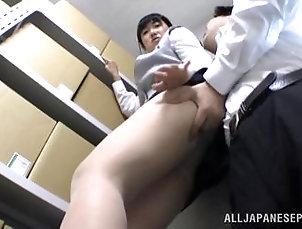 Cock sucking...
