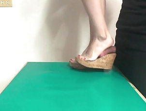 kink;teenager;young;cock-trampling;cock-crushing;cbt;asian-fetish;asian-mistress;inshoes;shoe-fetish;foot-fetish;feet-fetish;humiliation;domination;asian,Asian;Babe;Brunette;Hardcore;Teen;Feet;60FPS;Verified Amateurs Inshoes Cock...
