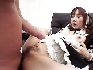 Teens;Blowjobs;Big Boobs;Brunettes;Creampie;Hairy;Masturbation;Sex Toys;Nylon;Japanese;HD Videos Babe in maids...