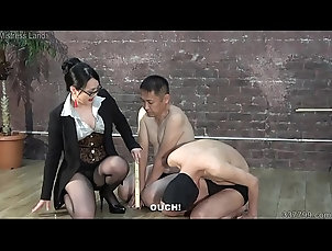 glasses,asian,bdsm,slave,3some,japanese,femdom,whipping,dominatrix,domina,slap,trampling,subtitles,hurting,asian_woman Japanese...