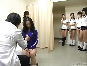 zenra;teenager;young;enf;cmnf;japanese;japan;school;schoolgirls;medical;examination;inspection;subtitled;subtitles;doctor;students,Asian;Teen;College;Japanese Subtitled CMNF...