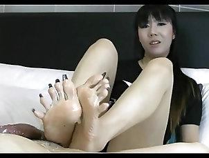 Amateur;Foot Fetish;Footjob;Philippines;Asian Footjob;Long Asian Long...